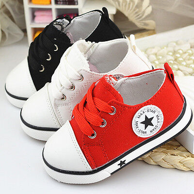 Kids Boys Sport Sports Running Shoe Boy Baby Infant Casual Trainers Soft Shoes
