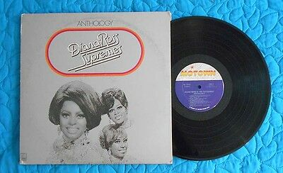 Diana Ross And The Supremes  Anthology  3 Disc Lp With Booklet   Motown Soul