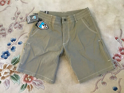 Kuhl Ramblr Shorts Khaki NEW WITH TAGS 10 Inseam