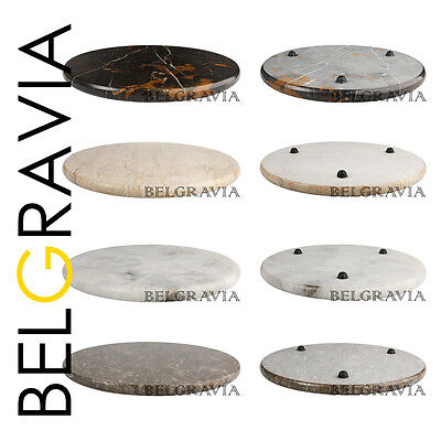 Marble Kitchen Round Chopping Serving Board Worktop Saver Food Cutting Board