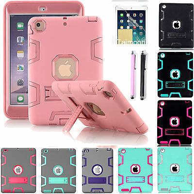 Shockproof Heavy Duty Hard Case Cover For Apple iPad Mini1/2/3/4 &iPad Pro 10.5""