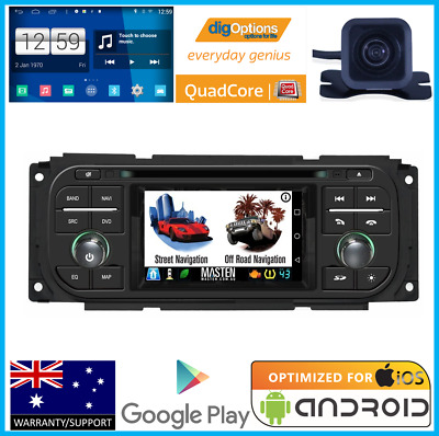 *jeep Wrangler Tj 2003 - 2005 Gps Dvd Navi Bluetooth Steering Factory Fit Stereo