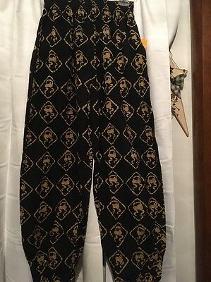 VTG 1980s SKIDZ PANTS NEW WITH TAGS!  Size 2  Logo design