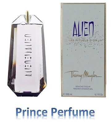 THIERRY MUGLER ALIEN LES RITUELS D'OR RADIANT SHOWER GEL - 200 ml