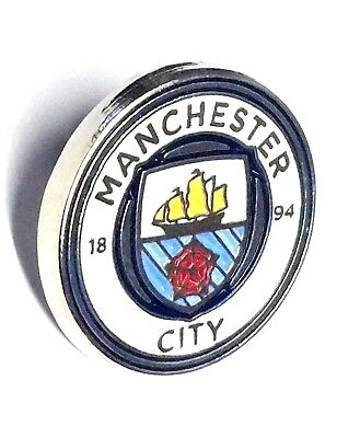 Manchester City Badge Pin Crested  Official Football Club Gifts