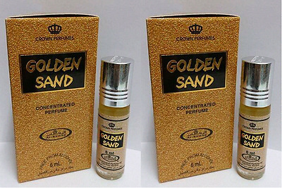2 Golden Sand 6ml By Al Rehab Oriental Concentrated Perfume oil/Attar