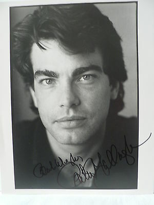 Peter Gallagher Actor  * Original Autograph Hand Signed * 8'' X 10'' Photo