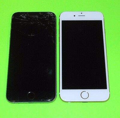 LOT of 2 Apple iPhone 6s 16GB (Unlocked) CANT ACTIVATE ~PARTS! ~ iCl0ud+Other
