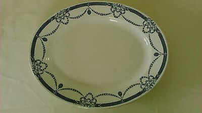 "Antique John Maddock & Sons Ltd ""Marcia"" oval platter dish stamped George V"