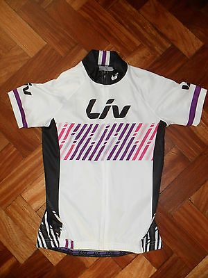Liv Women's Short Sleeve Cycling Jersey Size S