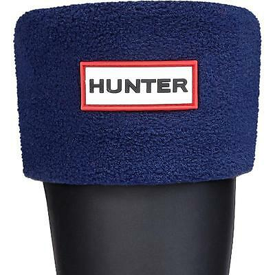 Hunter Kids Boot Sock Dark Navy Textile Wellingtons Boots