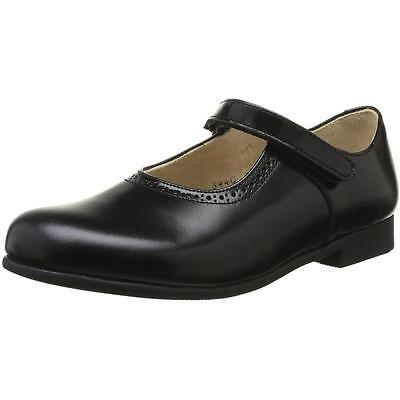 Start-Rite Delphine Black Leather School Shoes