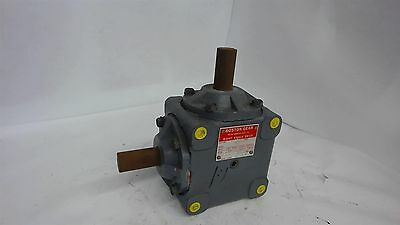 Boston Gear R1211 Right Angle Drive Gearbox, 1:1 Ratio, 1150 Input Rpm