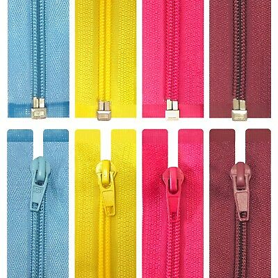 Nylon Open-End Zips - Size 5  (47 Colours + 10 Lengths) / Buy 1 Get 1 Free