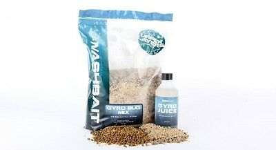 Nash Bait New Gyro Bug Mix 1.8Kg Base Mix + 240G Bug & Pellet Mix + 250Ml Gyro J