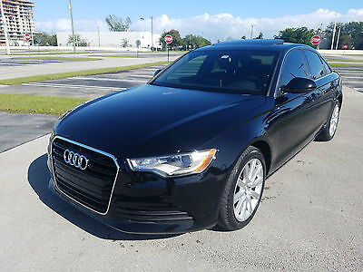 2014 Audi A6 Premium Sedan 4-Door 2014 Audi A6 Premium Sedan 4-Door 2.0L FULLY LOADED LOW MILES NICE BEST OFFER