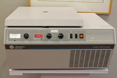 Beckman Coulter Allegra 6R Refrigerated Benchtop Centrifuge - VERY NICE WORKING
