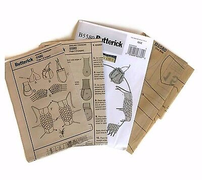 Butterick Sewing Pattern B5580 Making History Game of Thrones Medieval Cosplay