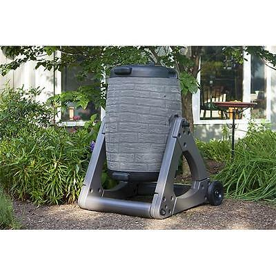 Good Ideas CW-DOWN-CG2C Compost Wizard Downton Composter, Cool Gray