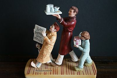 Norman Rockwell (Happy Birthday Mother Dear) Figurine