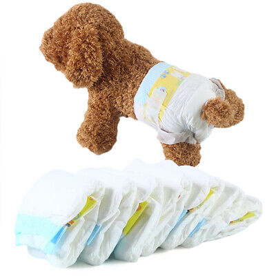 Chic Pet Diapers Female Dog Disposable Thicken Nappy Puppy Comfy Menstrual Pants