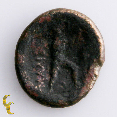 Ancient Greece 400-344 BC Malienes Thessalay Coin (VF) Very Fine Condition