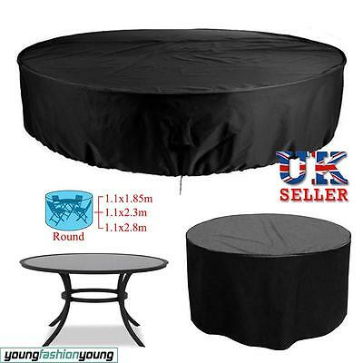 Garden Patio Table Chair Cover Outdoor Furniture Shelter Waterproof 4 6 8 Seater