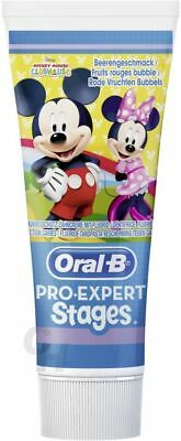 Oral-B Stages Kinderzahnpasta Zahncreme Mickey Maus 75ml