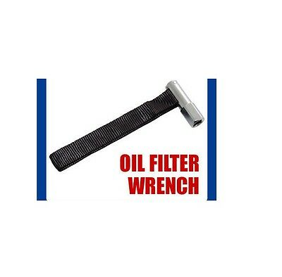"DRIVE 1/2"" OIL FILTER STRAP WRENCH REMOVAL TOOL SOCKET new"