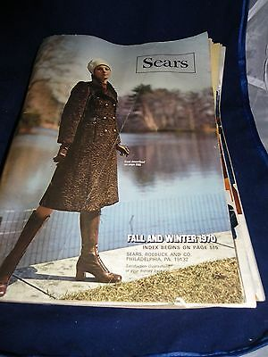 Vintage Sears 1970 Fall and Winter Catalog  Hippie Fashions