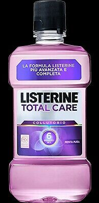 10 X Colluttorio Listerine 500 ML Total Care Formato Scorta Super Convenienza