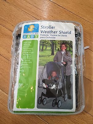 Especially for Baby Stroller Rain Cover Canopy Weather Shield New, Free Shipping