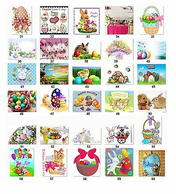 30 Personalized Return Address Labels Easter Buy 3 get 1 free (e2)