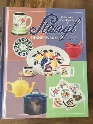 2000 Collector's Encyclopedia Of Stangl Dinnerware Runge Hard Cover Book