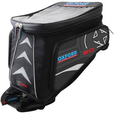Oxford NEW Lifetime X20 Black Adventure Sport Touring Tank Luggage Bag