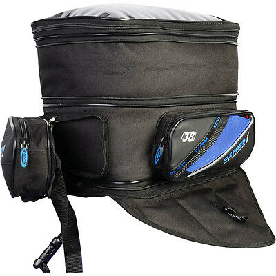 Oxford NEW 1st Time Expanding Motorcycle Road Bike Tank Luggage Bag Back Pack