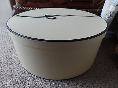 Vintage Large Hat Box Large Case 18""