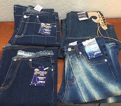 Lot Of 4 Watch LA Size 7/8 inseam 31 - 33 Stretch Elastic NWT Minor Flaws Jeans