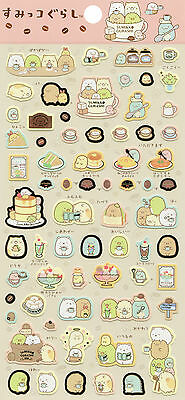 "San-X Sumikko Gurashi ""Cafe"" Stickers (#2)"