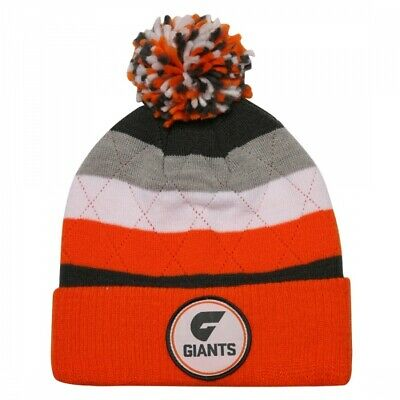 Greater Western Sydney Giants Official AFL Mens Supporter Beanie