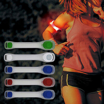 Reflective Safety Belt Arm Strap Night Cycling Running LED Armband Reliable
