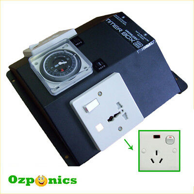 High Quality Power Relay Industrial Timer Box 2 for Hydroponics Lighting