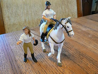 Papo Toys English Equestrian Set: One Horse, 1 Rider, 1 Handler