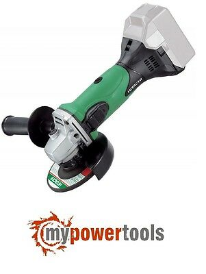 "HITACHI G18DSL 5"" (125mm) 18V LI-ION ANGLE GRINDER SKIN - SUITS SLIDE BATTERY"