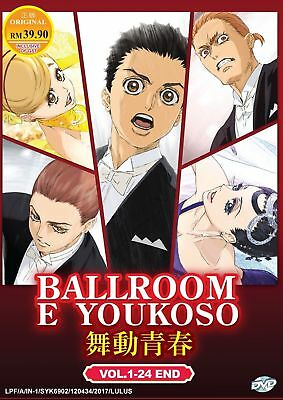 DVD Ballroom e Youkoso Chapter 1-24 End English Subtitle Japan Anime