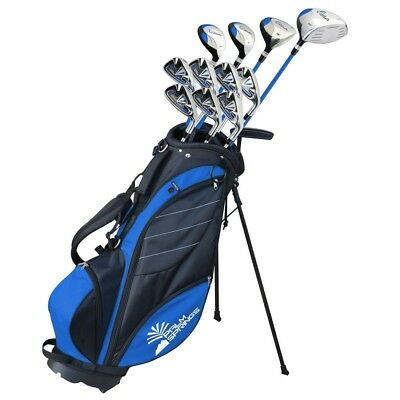 Palm Springs Golf Visa V2 Mens Right Hand Graphite/Steel Golf Clubs Set with Bag