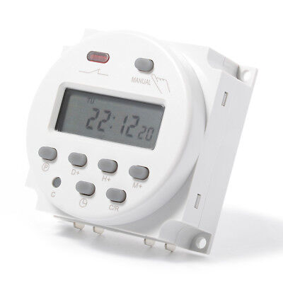 CN101A Digital LCD Power Programmable Time Switch Electronic Timer Relay TH282