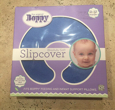 Boppy Blissfully Soft Slipcover - Blue