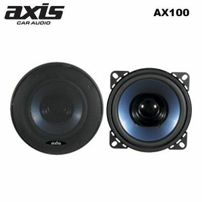 Axis AX100 High Performance Full Range 4inch (100mm) Dual Cone Speakers