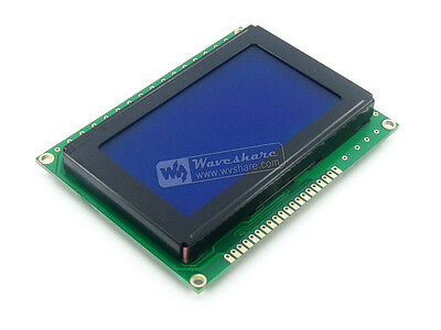 LCD12864-KS 5V Blue Backlight Display Screen 128*64 Graphic Character LCM Module